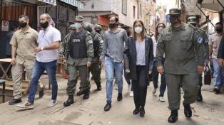 Frederic, legisladores y comuneros monitorearon la actividad de Gendarmería en Bajo Flores