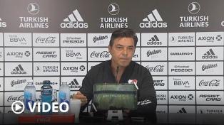 """Gallardo: """"Tenemos que seguir activos, no hacer la plancha"""""""
