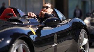 Zlatan Ibrahimovic llegó a los 500 goles y se regaló una Ferrari