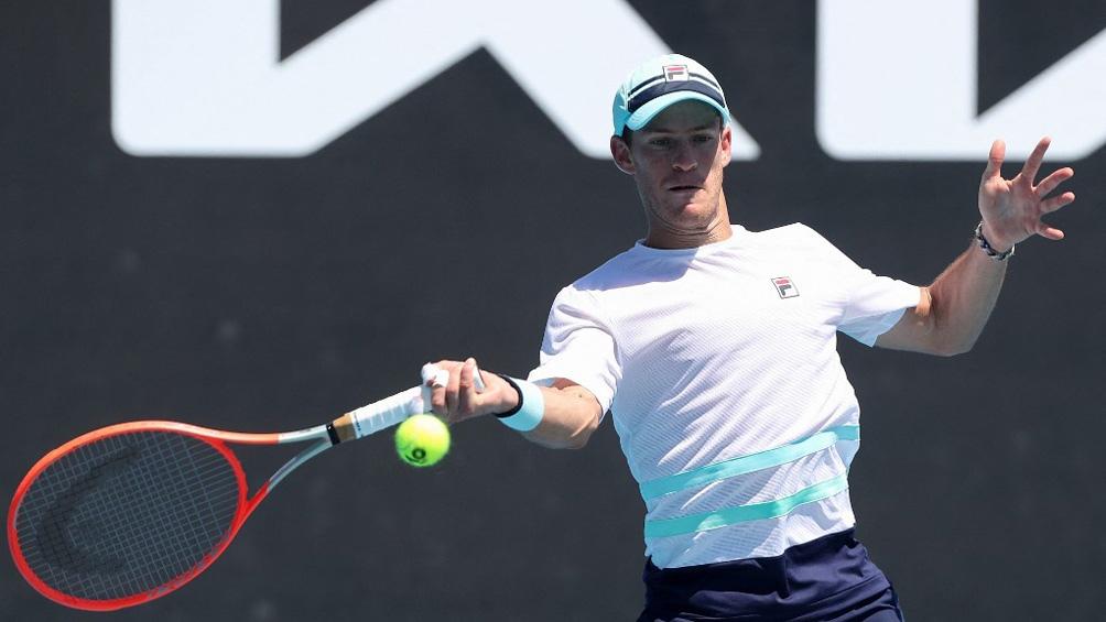 Schwartzman está en la siguiente ronda del primer Grand Slam del año.