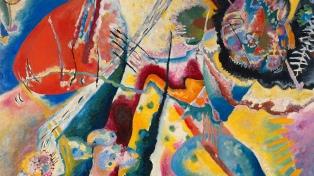 """Una novedosa iniciativa permite """"escuchar"""" los sonidos asociados a la obra Kandinsky"""