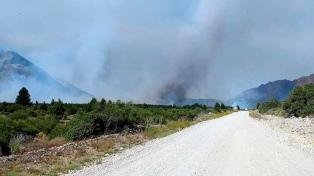 Está contenido el incendio en El Bolsón
