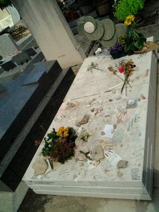 Otro detalle de la tumba.