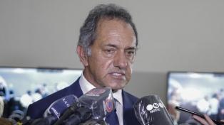 """Scioli: """"La integración energética es estratégica en la relación con Brasil"""""""