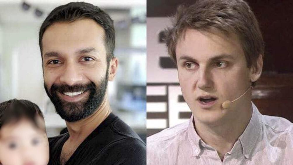 Los creadores de Clubhouse: Rohan Seth y Paul Davison.