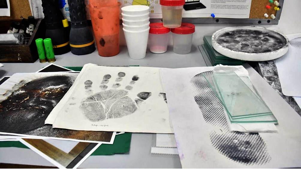 Las pericias permitieron identificar las huellas de Hugo Orlando Ojeda.