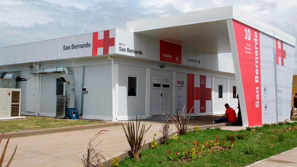 Uno de los cinco centros sanitarios que comienza a funcionar.