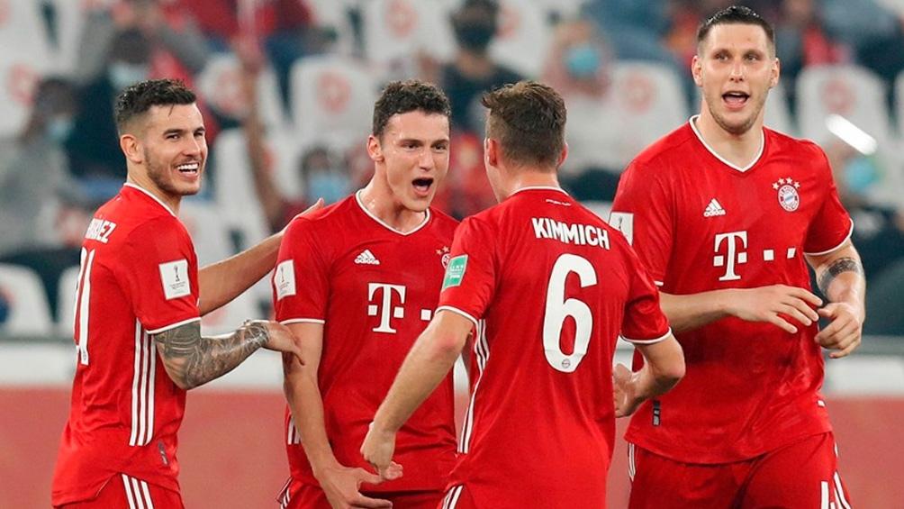 Bayern Munich le ganó a Tigres de México en Qatar (Foto: @FCBayern)
