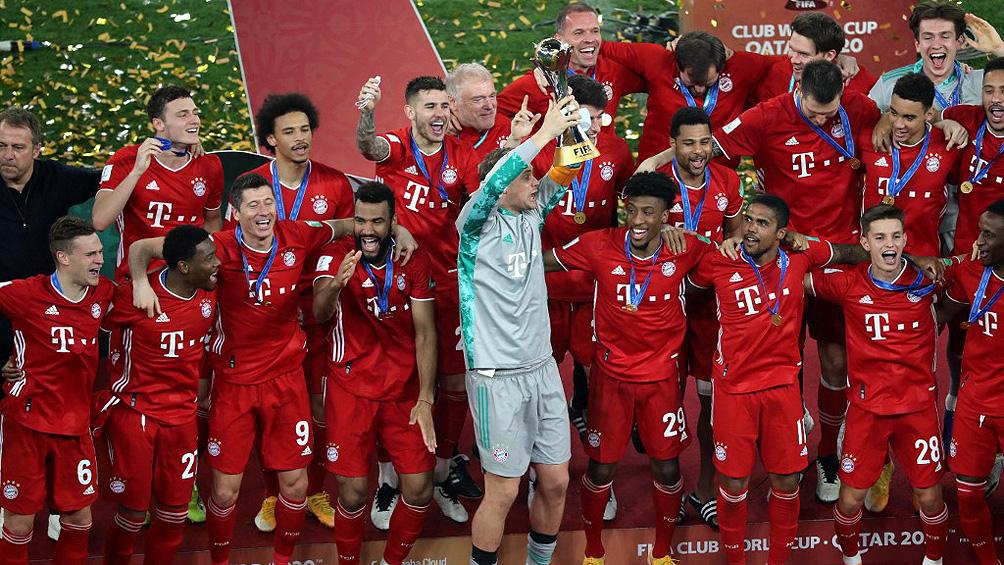 Bayern Munich regresó a Alemania tras haber conquistado el Mundial de Clubes en Qatar