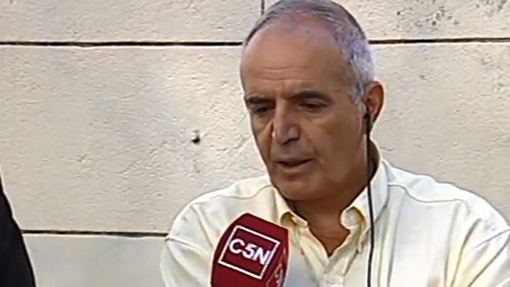 El fiscal la Unidad Funcional de Instrucción 5 de Junín, Sergio Terrón.
