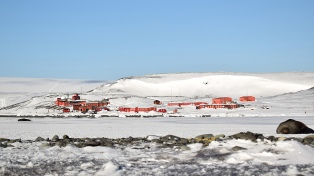 La principal base científica de la Antártida Argentina cumple 39 años