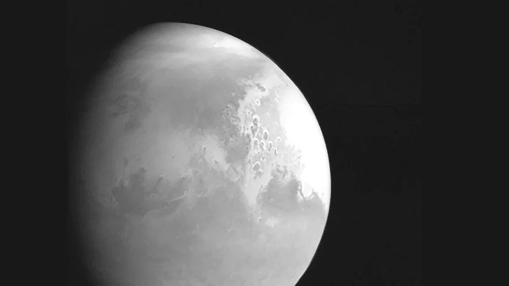 """Las fotos fueron reveladas dos días después de que la """"Tianwen-1"""" entrara en la órbita de Marte."""