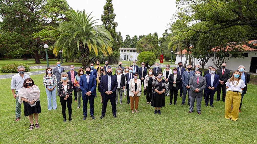 Se realizó la reunión del Consejo Federal Educativo, que cerró el presidente Alberto Fernández.