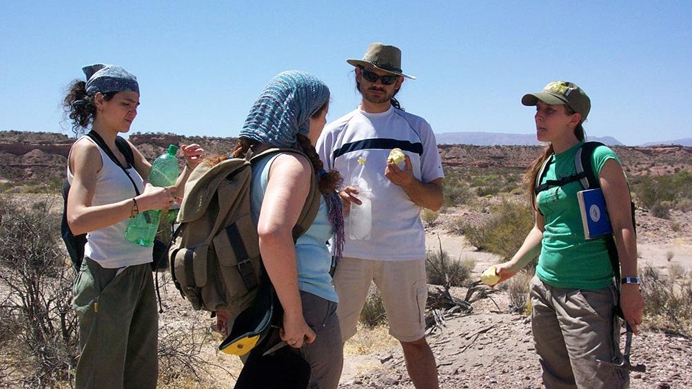 """El equipo de investigadores se especializa desde hace diez años """"en el estudio de la evolución de los arcosauriformes""""."""