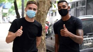 Palavecino y Martínez pasaron la revisión médica y firmarán con River