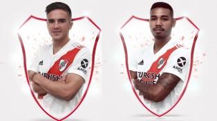 Palavecino y David Martínez ya son jugadores de River