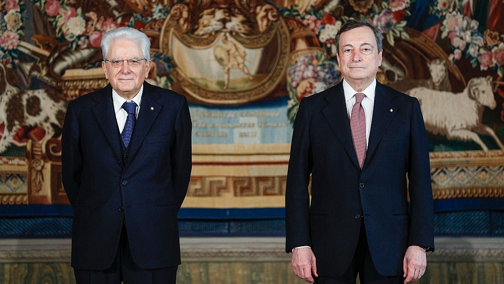 El Gabinete de Draghi tendrá 23 ministros: 15 hombres y ocho mujeres con perfiles técnicos y políticos,