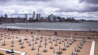Se espera un fin de semana largo fresco y con lluvias en la Costa Atlántica