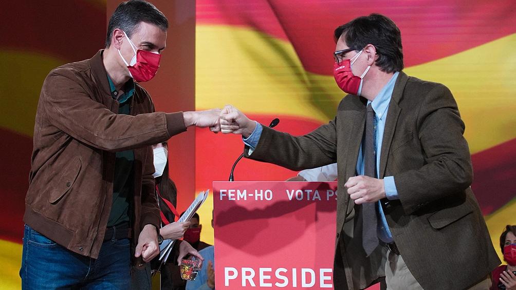 Salvador Illa, el candidato socialista sería el más votado según los boca de urna
