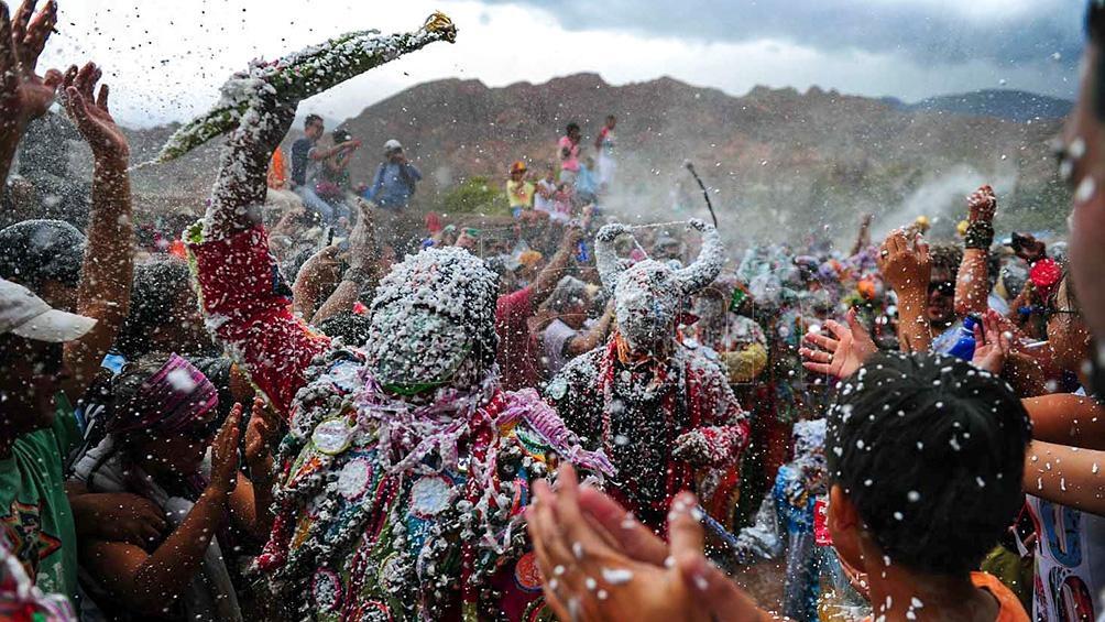 El Carnaval de la Quebrada, en Tilcara (Jujuy), atrae cada año a más turistas.
