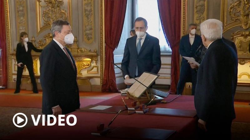 Mario Draghi ya es el nuevo primer ministro de Italia
