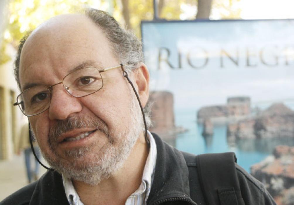 Luis Giannini, referente de los jubilados que reclaman.