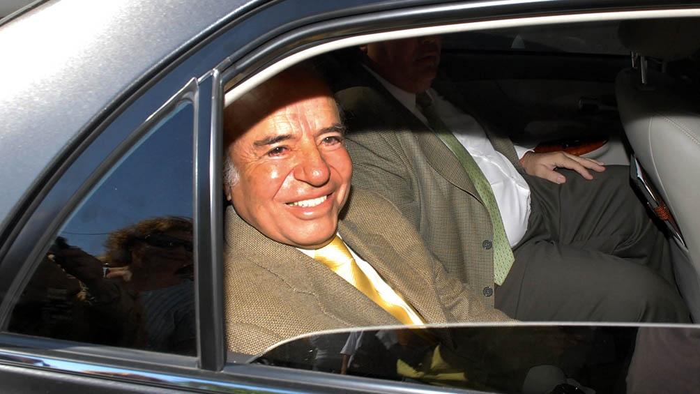 Aún sus críticos reconocen el carisma de Menem.