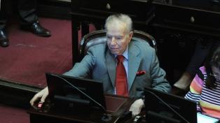 Cómoserá el velatorio de Menem en el salón Azul del Senado