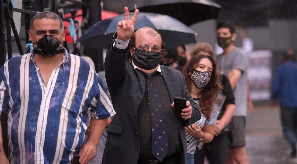 El cortejo del ex presidente Menem llegó al Congreso de la Nación