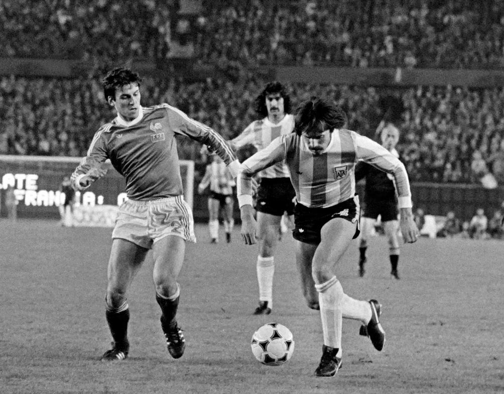 En el triunfo 2 a 1 ante Francia, el 6 de junio de 1978. Luque hizo el gol definitorio. También marcaron Passarella y Michel Platini.