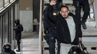Incidentes en Barcelona tras una nueva protesta contra el encarcelamiento del rapero Hasel