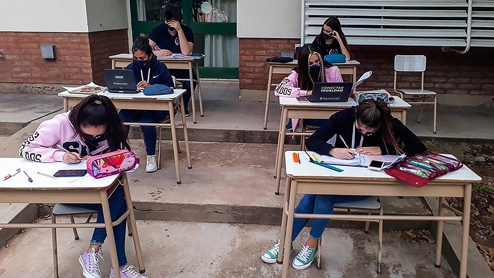 Continúan las clases en la provincia de Buenos Aires.