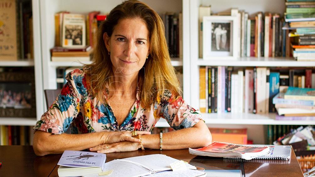 """Carolina Esses, autora de """"Un buen judío"""" y """"Temporada de invierno""""."""