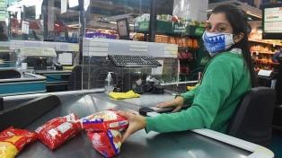 Las ventas en los supermercados subieron 2,6% interanual