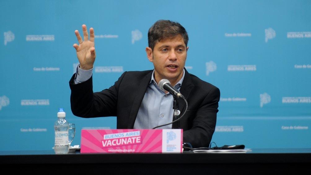 Más de dos millones de personas recibieron la primera dosis de la vacuna contra el coronavirus en la provincia de Buenos Aires, informó hoy el gobierno de Axel Kicillof.