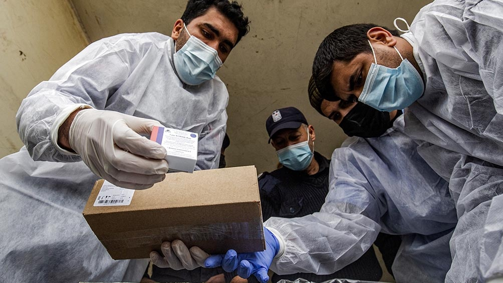 Autoridades palestinas anunciaron hoy 1.780 nuevos casos de Covid-19 y 27 víctimas mortales en las últimas 24 horas.