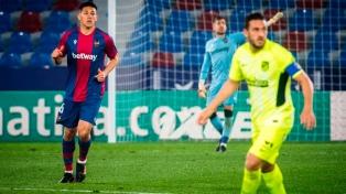 El líder Atlético de Madrid, de Diego Simeone, perdió con Levante