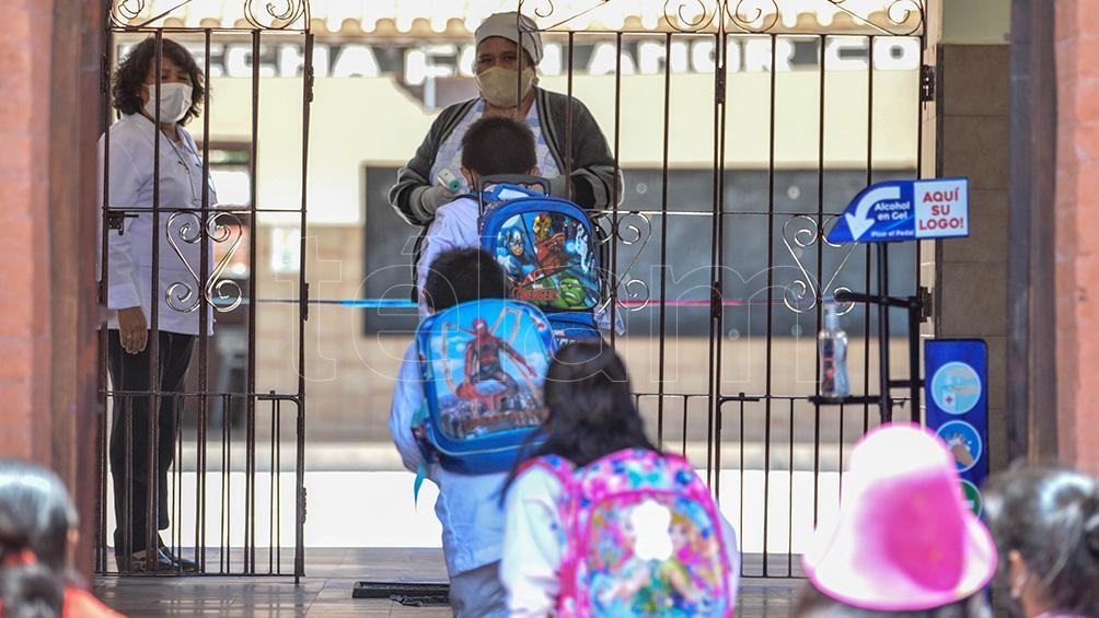 A partir del 21 de febrero volverán las clases presenciales para los alumnos secundarios y de escuelas técnicas de Jujuy.