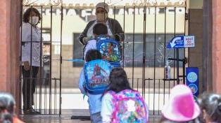 Hubo 90% de asistencia en la primera jornada de vuelta a clases