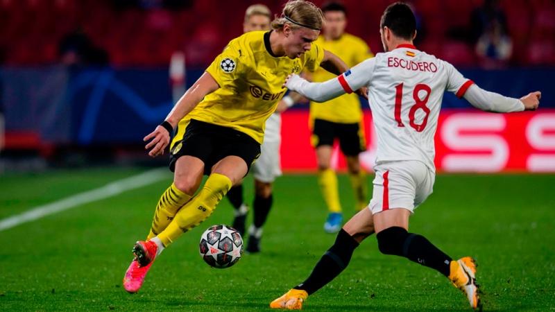 Sevilla sufrió la embestida del Borussia Dortmund