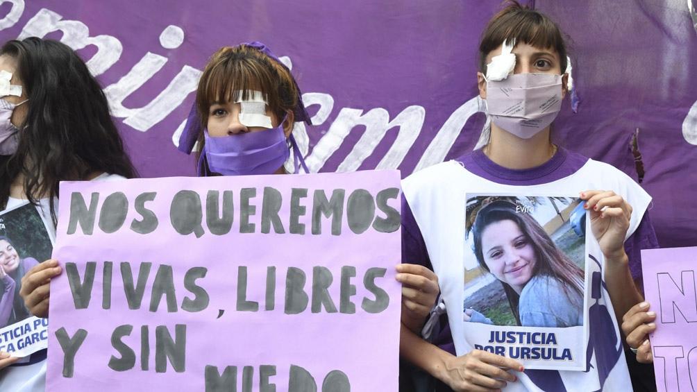 El viernes 26 de febrero a las 19, día del cumpleaños de Úrsula, habrá una marcha en la plaza General San Martín de Rojas.