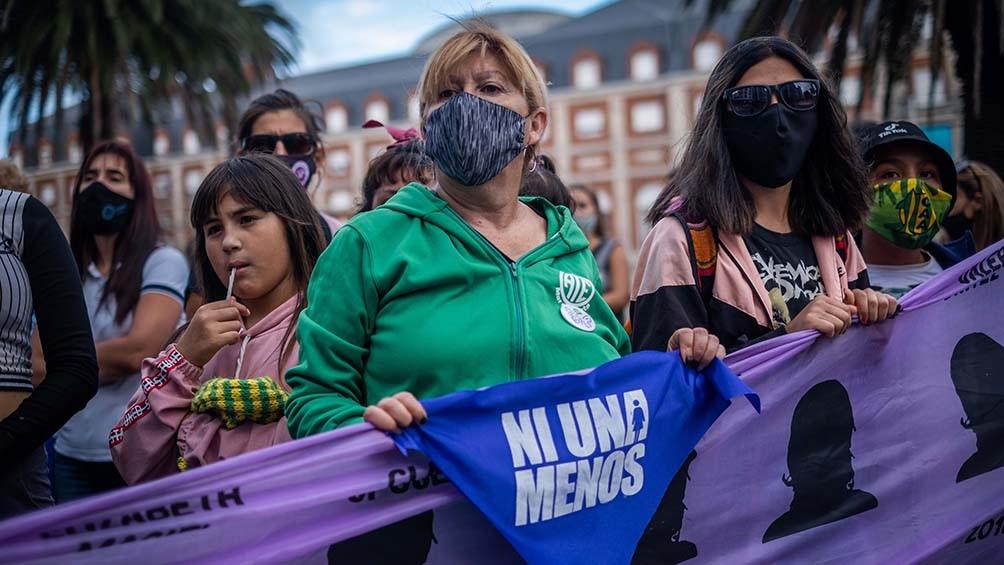 La organización informó que hubo 160 femicidios y 5 transfemicidios.