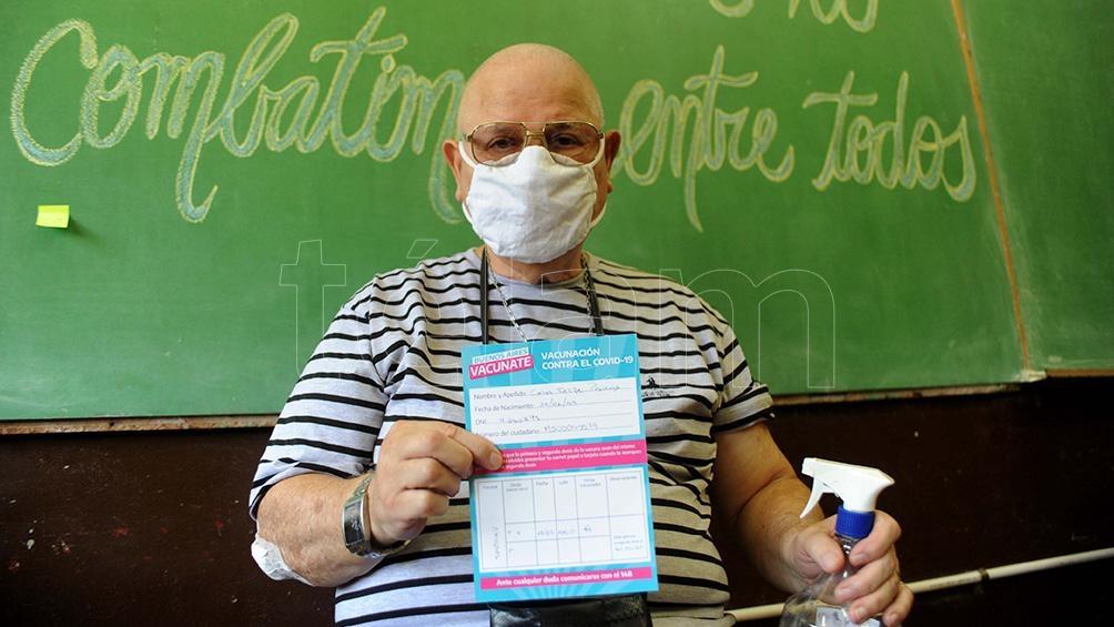 Entre este jueves y el domingo se vacunarán en todo el territorio provincial a 95.000 mayores de 70.