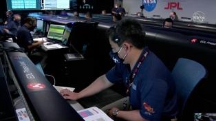 El rover de la NASA que aterrizó en Marte comenzó a buscar restos de vida
