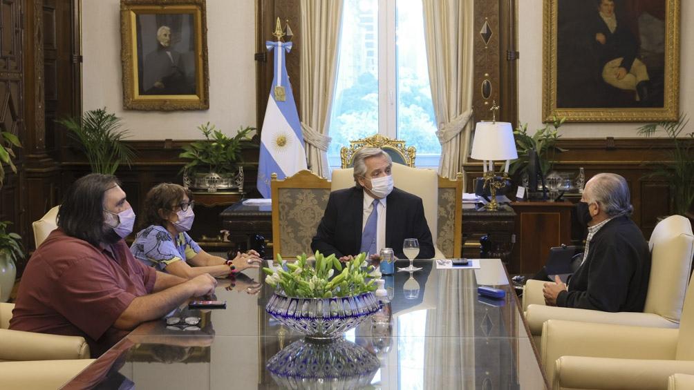 """Sobre la paritaria nacional, Alesso dijo: """"Tuvimos varias reuniones y ojalá que tengamos pronto una propuesta""""."""