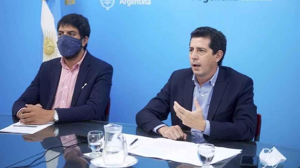 El ministro del Interior estuvo junto a los gobernadores Juan Manzur y Jorge Capitanich.