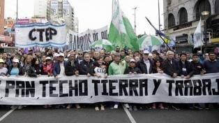 """Frente Popular Darío Santillán: """"Es muy importante que nos hayan convocado"""""""