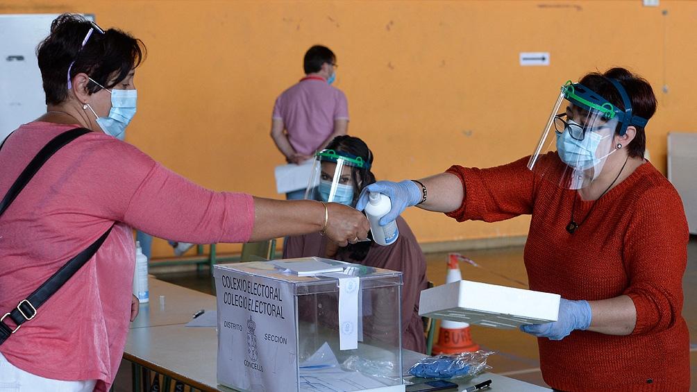 No hubo registros de subas masivas de casos una vez cerradas las urnas.