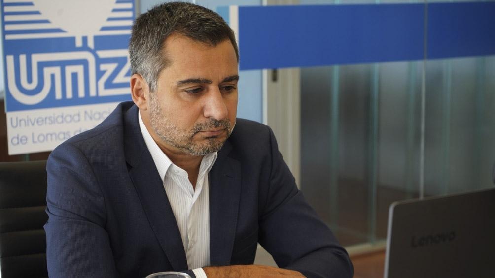 Diego Molea consejero académico y presidente del Consejo de la Magistratura.
