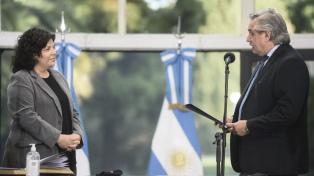 Carla Vizzotti asumió como nueva ministra de Salud
